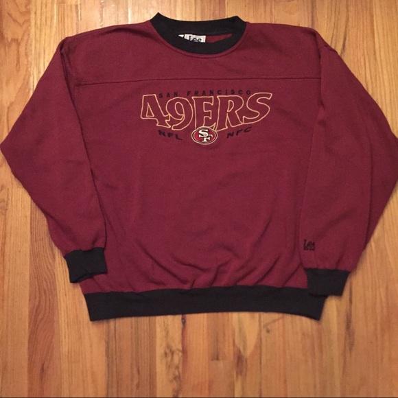 newest 6acbf c8f3c Vintage San Francisco 49ers sweatshirt 90s NFL
